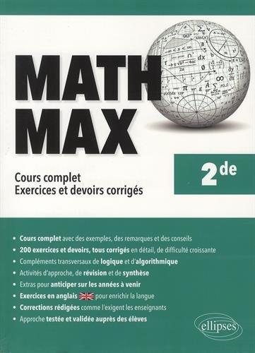 Math Max Seconde