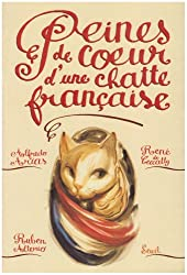 Peines de coeur d'une chatte française