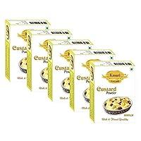 Kesari Vanilla Flavour Custard Powder- 100 gm, Pack of 5