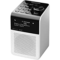 Panasonic RF-D20BT Compact Splash Proof Radio with DAB and Bluetooth - White