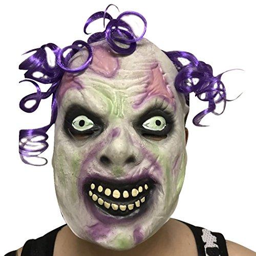 Funpa Halloween Unheimlich Maske Schrecklich Zombie Kopf Design Volles Gesicht Latex Party Maske Kostüm Requisiten