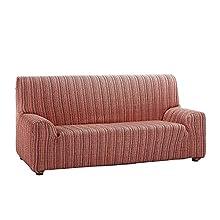 Martina Home Mejico Model Stretch Sofa Cover 2 Seats burgundy