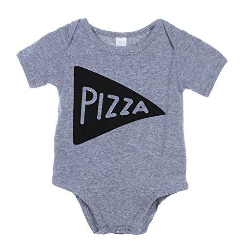 Baby Infant Toddlers Short Sleeve Letter Print Rompers Jumpsuit Sunsuit