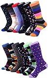 Marino Avenue - Herren Socken - Baumwolle - bunt gemustert - 12er-Pack