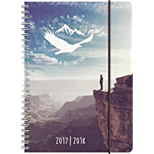 Brunnen 1072985018 Schülerkalender Travel (208 Seiten,1 Woche in 2 Seiten )