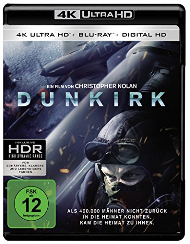 Dunkirk (4K Ultra HD + Blu-ray + Digital Ultraviolet)