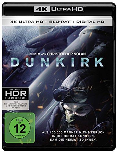 Dunkirk - Ultra HD Blu-ray [4k + Blu-ray Disc]