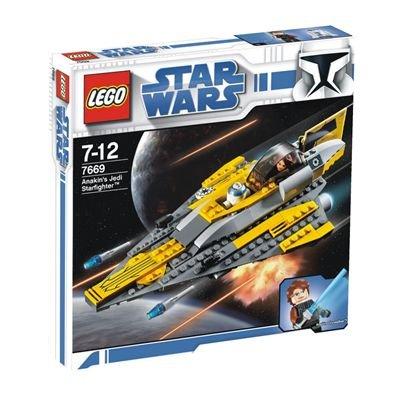 LEGO - 7669 - StarWars - Jeux de construction - Anakin's Jedi Starfighter