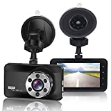 Car Dash Cam 1080P FHD Car Video Recorder 170 Wide Angle WDR Camera with 3.0