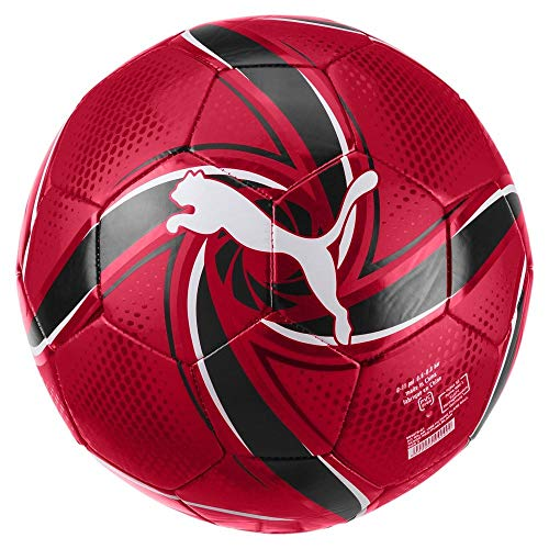 PUMA ACM Future Flare Ball pallone da calcio Unisex Tango Red Black 5