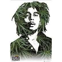 GB eye LTD, Bob Marley, Leaves, Maxi Poster, 61 x 91,5 cm