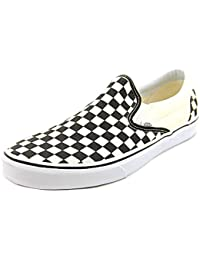 Chaussures Slip-On Vans Classic Noir-Blanc Checkerboard-Blanc (Eu 42 / Us 9 , Noir)