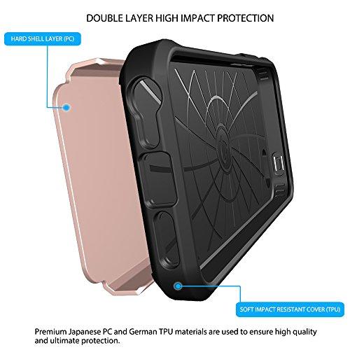 Coque Iphone se, luvvitt [Ultra Armor] absorption des chocs Coque Best Coque rigide double couche ultra résistante pour Apple iPhone se Special Edition rose gold