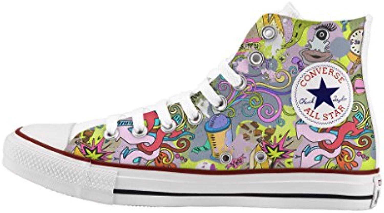 des converse all star très personnalisées et imprimés des chaussures chaussures chaussures marque italienne neon fl èc hes b0 1dv6g2ss parent   élégante Et Gracieuse  6b0f75