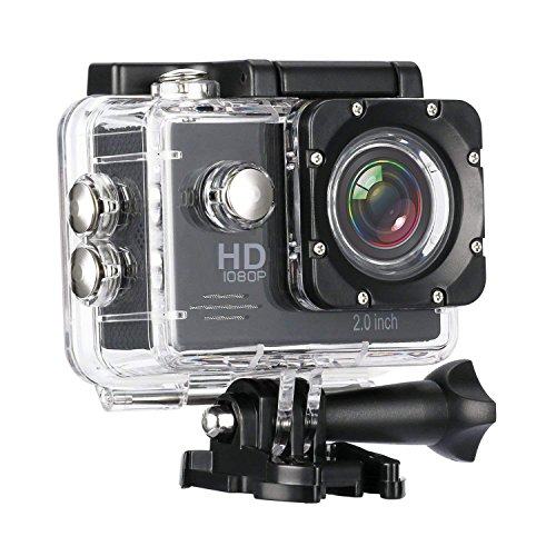 Rewy PR-8800 Full High Definition 1080p Sports Waterproof 12MP Camera with Micro Support Sd Card Slot Multi Language for Android Devices