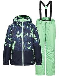 Icepeak Combinaison de ski garçon pour enfant Multicolore