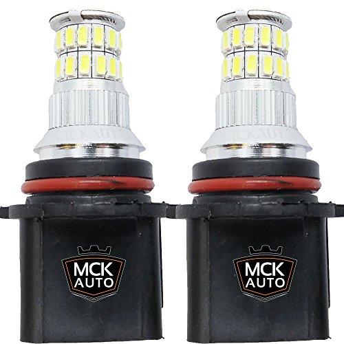 MCK Auto P13W LED Canbus Muy claras, pequenas y facil de reemplazar Luces de Conducción Diurna Bombillas LED Canbus Xenón DRL P13W Cree 36SMD EB3R3