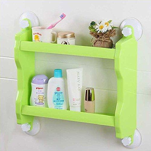 tougmoo bagno doccia rame antico angolare da bagno ripiani, scaffale, mensola portaoggetti da bagno, j16489 Green