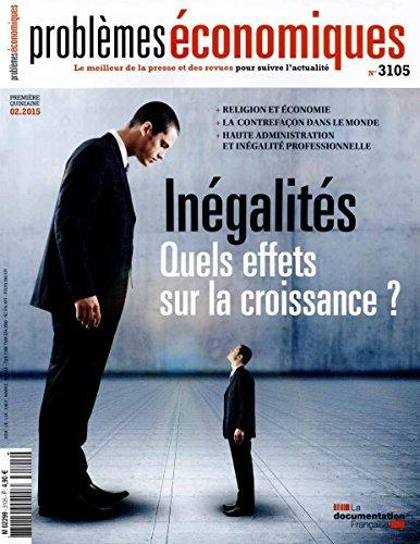 Problèmes économiques, n° 3105 : Inégalités -...
