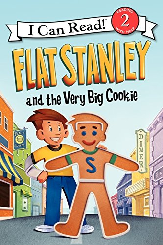 Flat Stanley and the Very Big Cookie (I Can Read, Level 2) por Jeff Brown