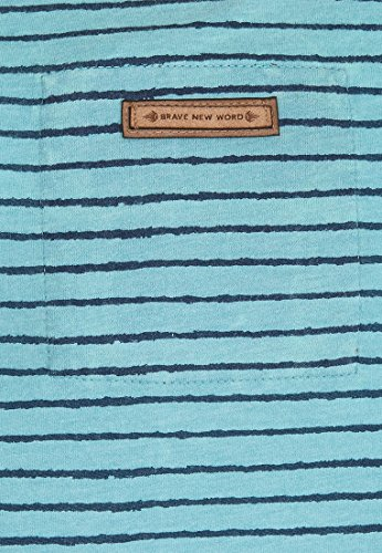 Naketano Male T-Shirt Dieser Schwanz III Heritage Fresh Blue Melange
