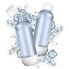 """Hol dir dieses praktische PET-Ersatzflaschen-Set für dein """"Soda Trend"""" Gerät! Egal ob Classic oder Deluxe, die PET-Flaschen passen für alle """"Soda Trend"""" Modelle und eignen sich ideal für unterwegs. Nimm deinen Lieblings-Sprudeldrink mit zum Training,..."""