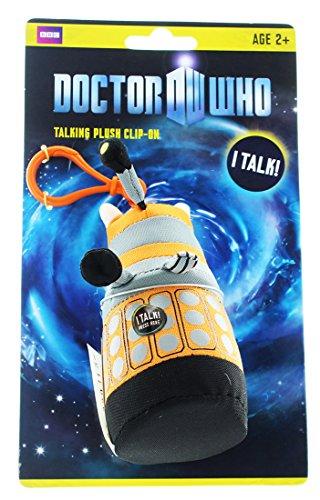 Doctor Who Mini Dalek Talking Plush (Orange)