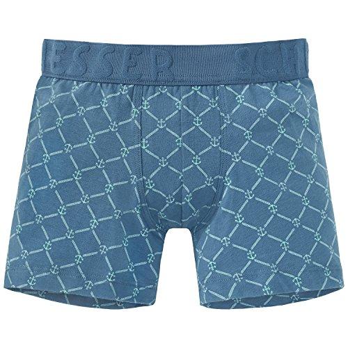Schiesser Jungen Boxershorts Maritim Shorts, Blau (Jeansblau 816), 140