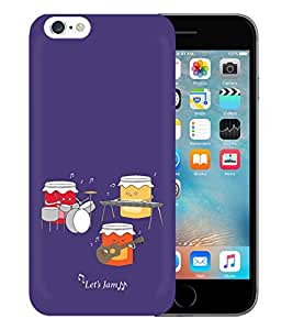 Kapa Designer Printed Protective Back Case Cover for Apple iPhone 6S (CO01)