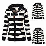 BHYDRY 2023 Mode Cotton Down Jacket Short Coat Women Solid Slim Thick Large Fur Collar Hooded Winter Warm Parkas Overcoat Zipper Padded Tops Outwear(EU-36/CN-M,Schwarz)