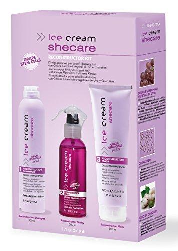 Shecare Reconstr uctor Kit – Cheveux Professionnelle – Régénération avec de la kératine