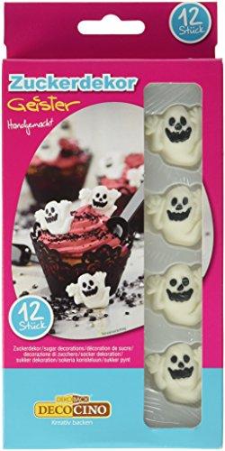 Geister, 12 Stück, 1er Pack (1 x 48 g) (Halloween-kuchen Und Gebäck)
