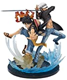 Figurine - One Piece - Monkey D Luffy & Trafalgar Law Sh Figuarts Zero 16 cm