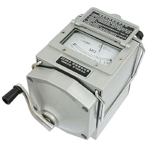 SODIAL(R) Insulation Megohm Tester Resistance Meter Megohmmeter ZC25-4