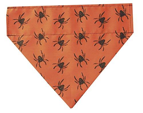 Halloween Hund Bandana Spinnen Muster, das passt für alle