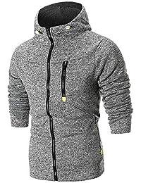 add9162031d33 Vetement Pull Homme Vtops Sweat à Capuche à Capuche à Manches Longues pour  HommesSweat-Shirt