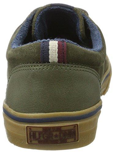 Tommy Jeans Herren V2385ic 1b Sneaker Grün (Olive Night)