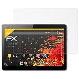 atFolix Schutzfolie für Huawei MediaPad M3 Lite 10 Displayschutzfolie - 2 x FX-Antireflex blendfreie Folie