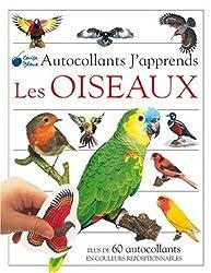 Oiseaux (Autocollants J'Apprends)