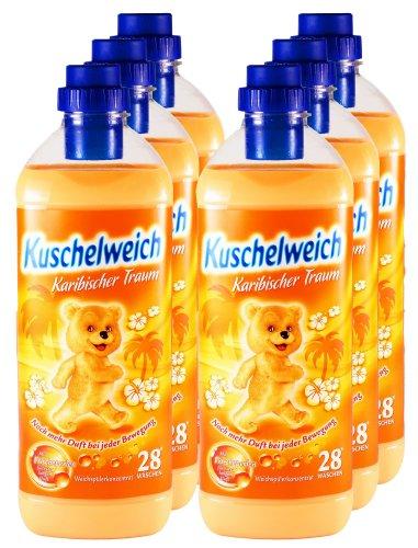 6er-vorteilspack-kuschelweich-weichspuler-karibischer-traum-6000-ml-fur-168-anwendungen