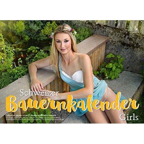 Schweizer Bauernkalender (Girls) 2019 / Calendrier Paysan Suisse (Girls) 2019: Der Kalender, von dem alle sprechen - echte Schweizer Bauerntöchter zeigen ihre natürliche Schönheit