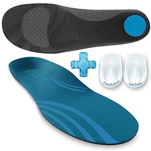 FootActive COMFORT PREMIUM - Federleichter Laufkomfort für Füße, Bein und Rücken, speziell bei Fersensporn - GR. 39 - 41 (S)