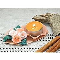 Blume Kerzehalter Hochzeit Beleuchtung Rosen