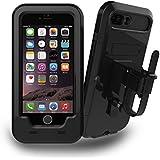 Bicicleta rack, elecguru soporte de manillar de bicicleta y moto soporte impermeable para iPhone