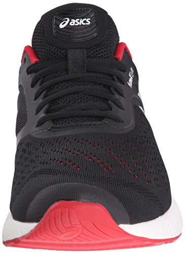 Asics FuzeX Lyte Synthétique Baskets Black-Racing Red-White