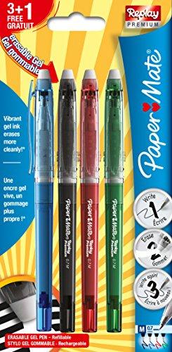 paper-mate-replay-premium-erasable-gel-penna-blu-confezione-da-2-pack-of-3-1-assorted-standard-colou