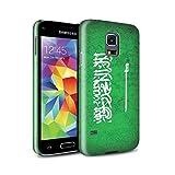 Stuff4 Gloss Hard Back Snap-On Phone Case for Samsung Galaxy S5 Mini/Saudi Arabia/Arabian