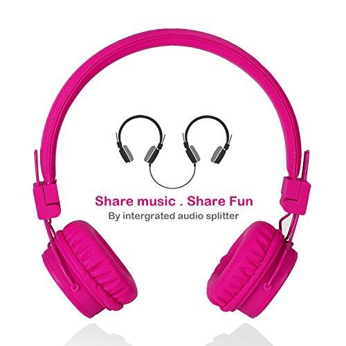 Kopfhörer für Kinder Mit Abnehmbarem Kabel und Share Port für Jungen und Mädchen by Termichy