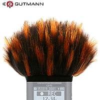 Gutmann Microfono protezione antivento pelo per Olympus LS-P1 / LS-P2 Digital Recorder - Modello speciale limitato
