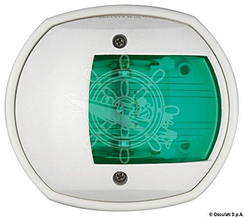 OSCULATI Fanale Sphera Verde/Bianco